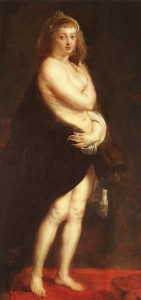 Rubens Venus in Fur Coat